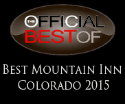 The Frisco Inn on Galena is the Best Mountain Inn in Colorado for 2015